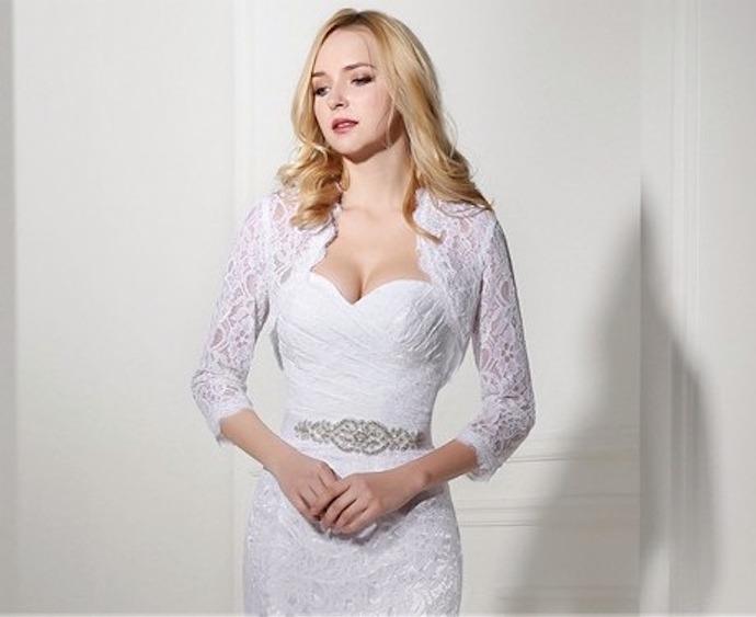 Vestidos de novia de boleros