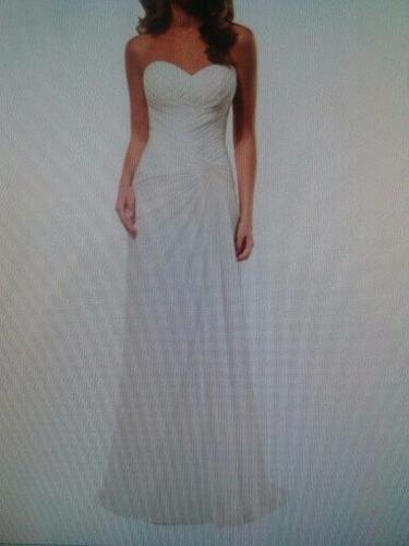 hermoso vestido de novia, talla 10