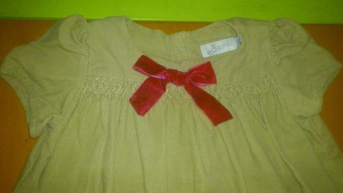 hermoso vestido de pana