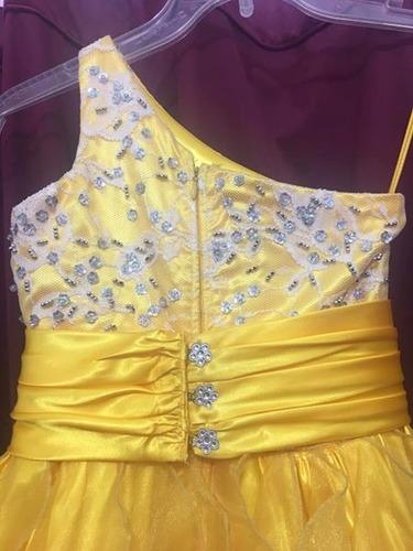 hermoso vestido de princesa para fiesta talla 6