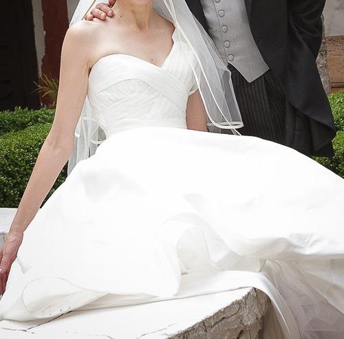 hermoso vestido de pronovias