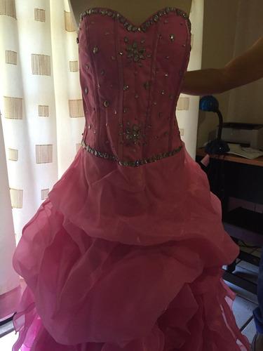 hermoso vestido de xv años