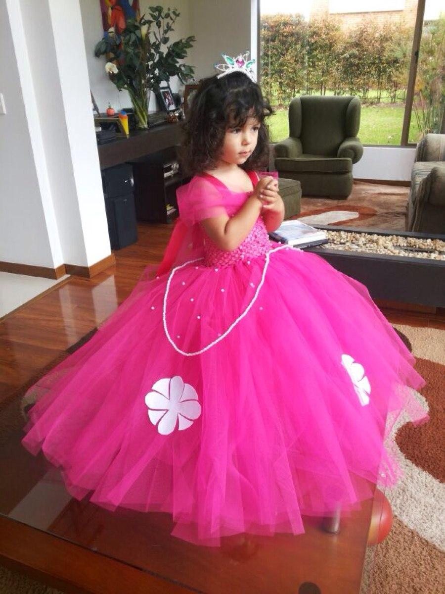 Hermoso Vestido Disfraz Princesa Sofia Tutus Aurora Bella ...