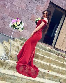 Vestidos Sexis Rojos Mujer Vestidos Graduación Largo S En