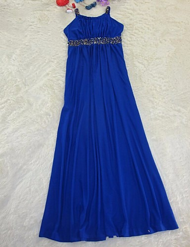 d1f8b534a Hermoso Vestido Largo Azul Fiesta Chico -   400.00 en Mercado Libre