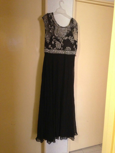 hermoso vestido largo d turash talla 38