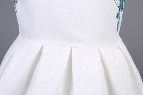 hermoso vestido niña primavera flores talla 2 a 8 moda ropa