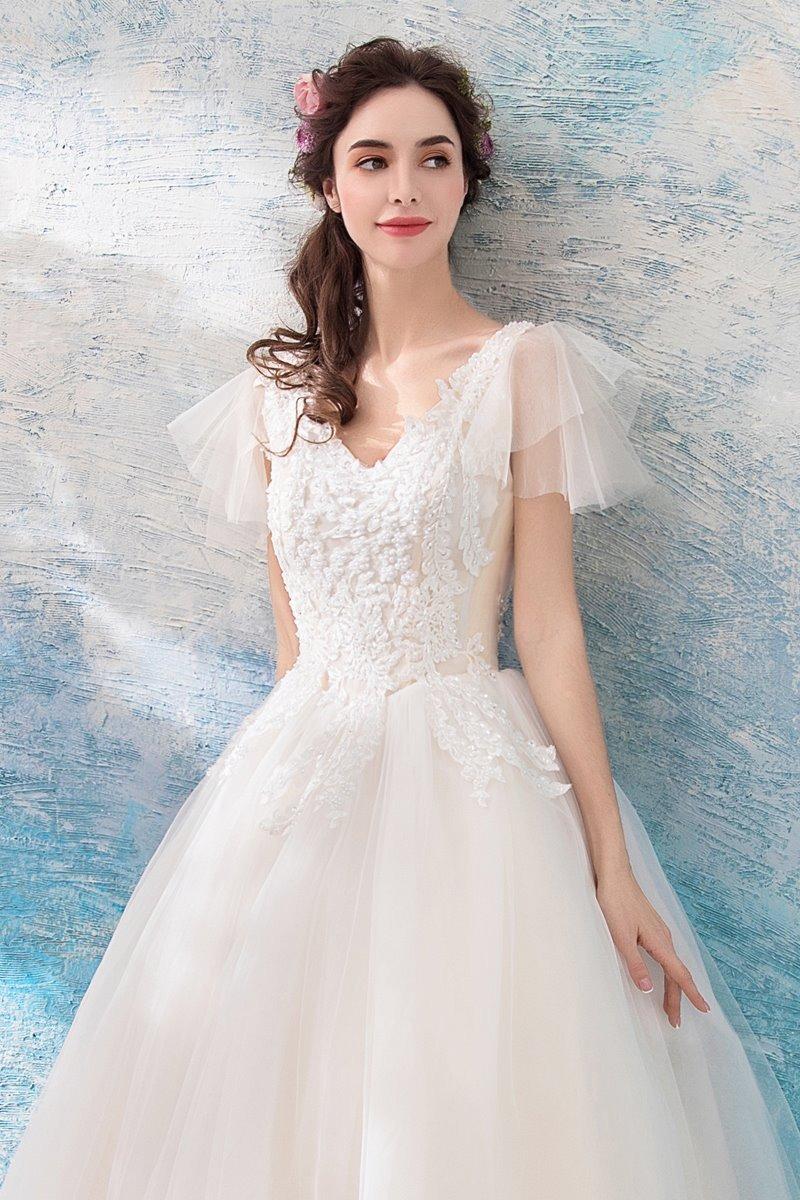 5adca5551 hermoso vestido novia ajustable con envio gratis w-18031200. Cargando zoom.