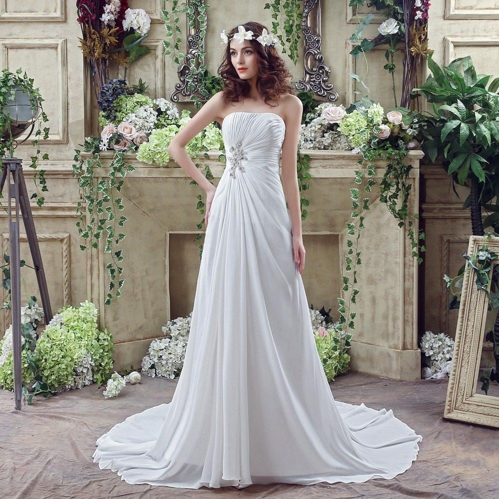 1bb8c0a99 Hermoso Vestido Novia Ajustable Con Envio Gratis W-20242 ...
