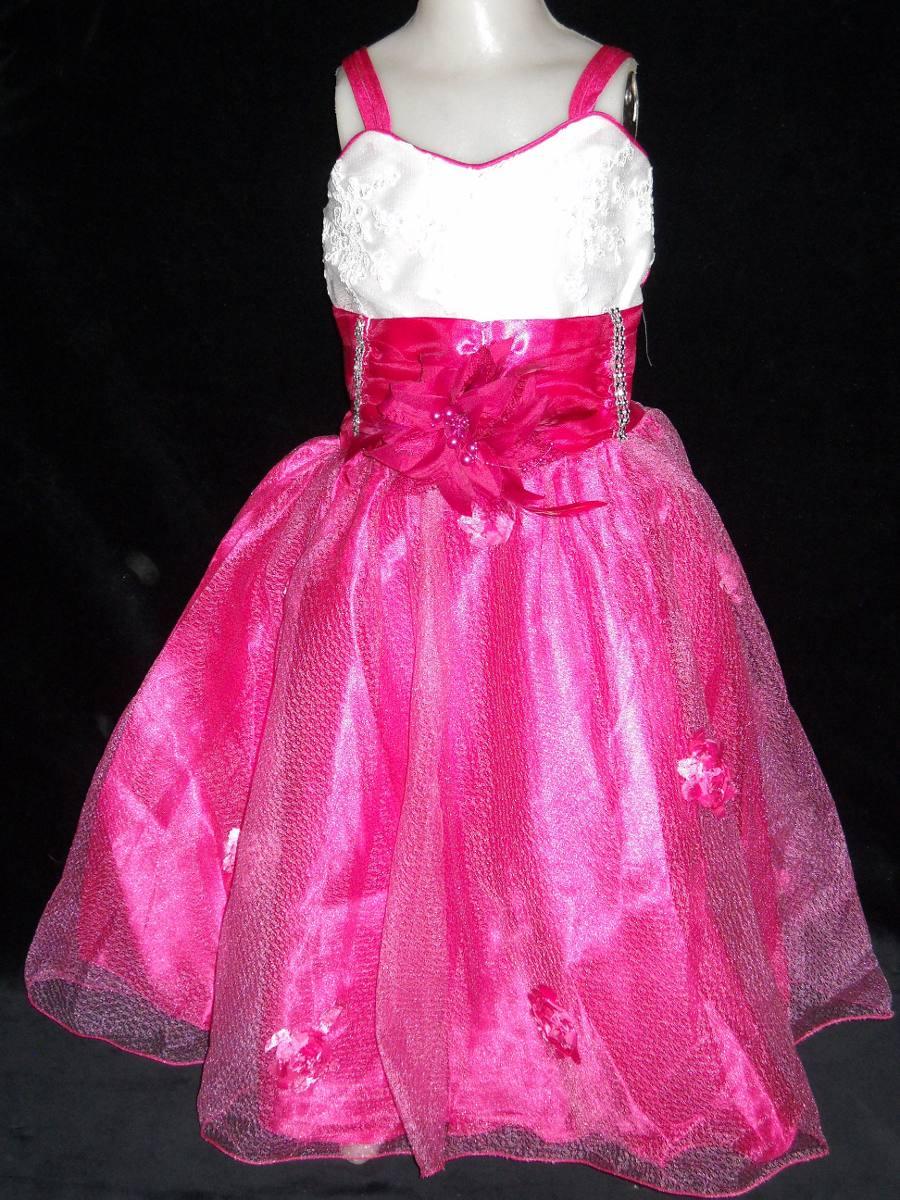 Hermoso Vestido Para Bautismo Cortejo Fiesta - $ 550,00 en Mercado Libre