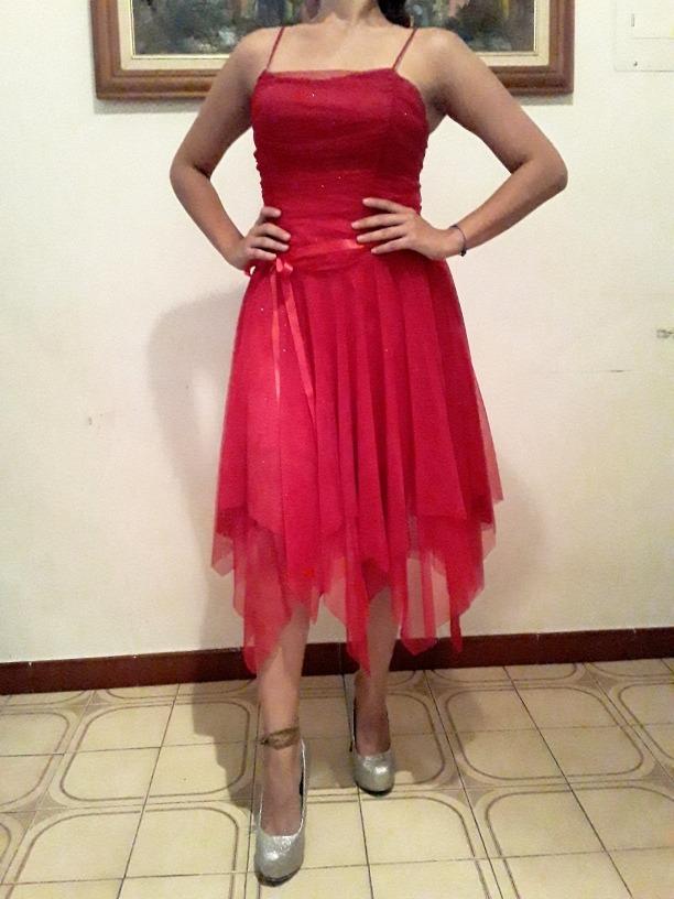 Vestidos rojos tipo coctel