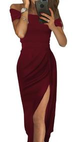 mejor venta elige el más nuevo comprar online Hermoso Vestido Sensual De Fiesta Pierna Descubierta