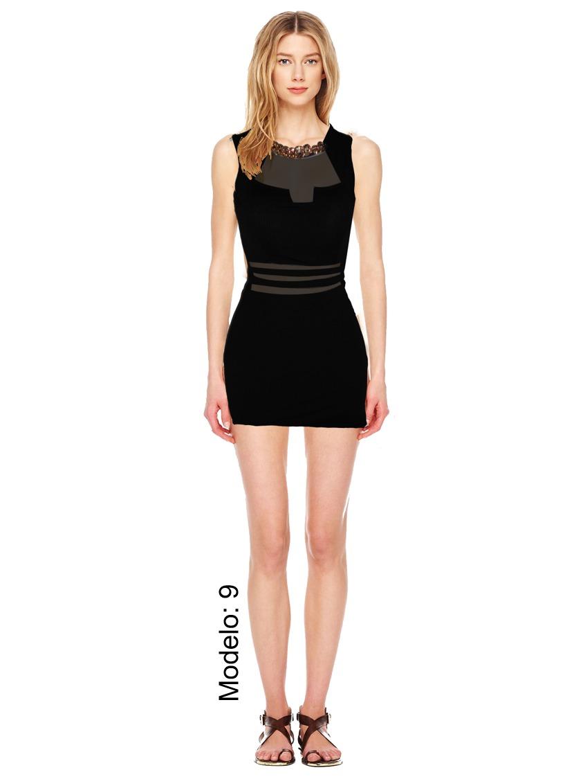 Vestidos modernos de fiesta color negro