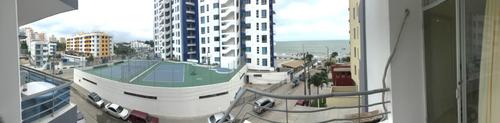 hermoso y cómodo departamento junto al mar tonsupa