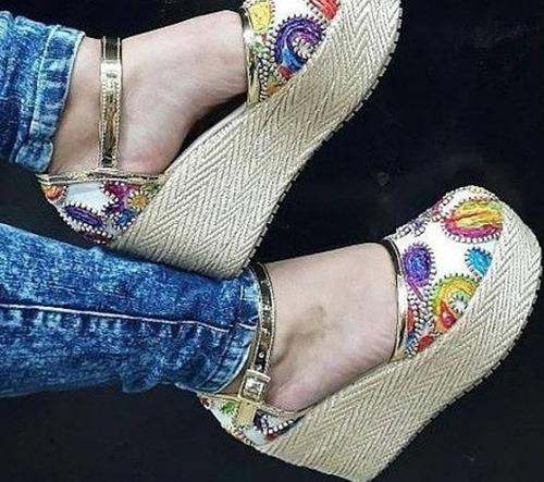 hermoso zapatilla cocuiza sandalia