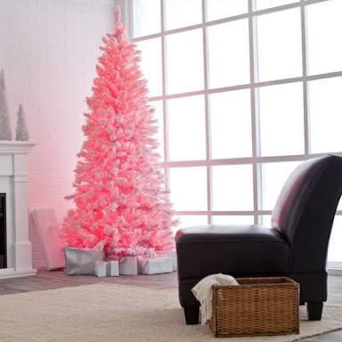 hermosos alboles de navidad (rosado)