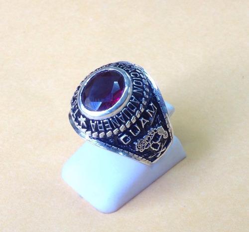 hermosos anillos de graduación en plata 925 10x8
