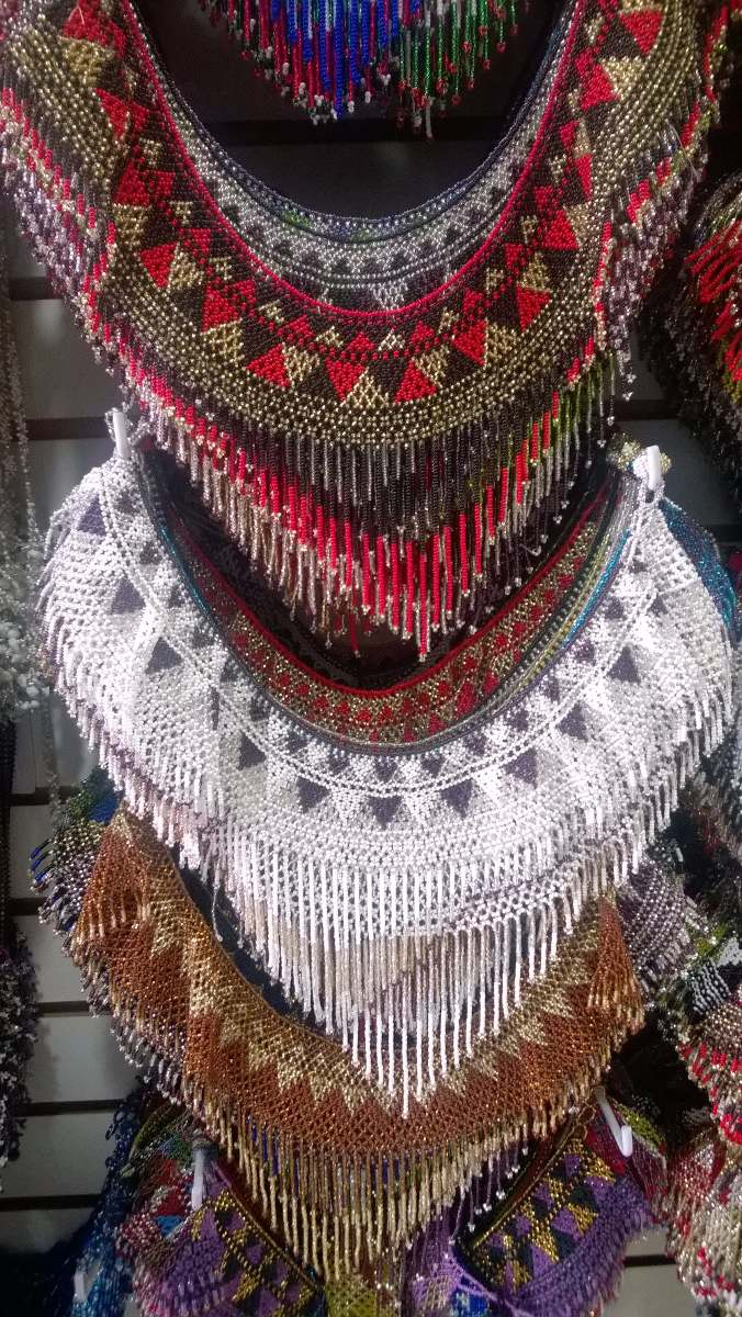 21296a7fa287 Hermosos Collares De Chaquira Artesanía Mexicana -   275.00 en ...