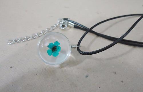 hermosos collares de cristal con detalle de flor - 7 modelos