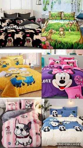 hermosos cubrelechos ovejeros cama doble