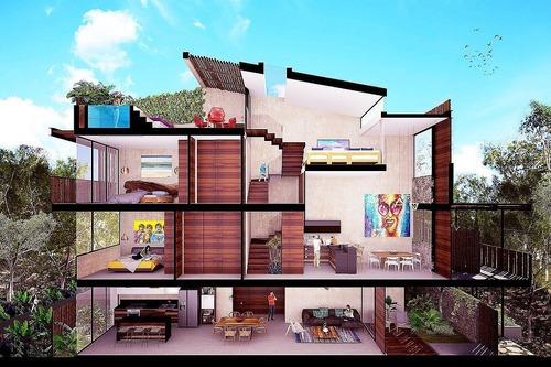 hermosos departamentos bungalos village en tulúm