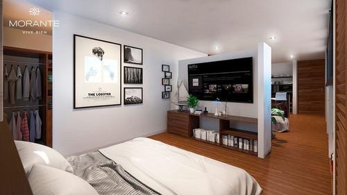 hermosos departamentos morante en montes de amé modelo 1 habitación