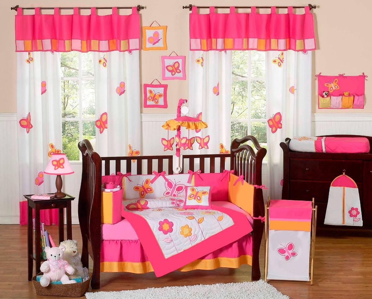 Hermosos edredones para bebe ropa de cuna corral o cama - Cortinas para bebes decoracion ...