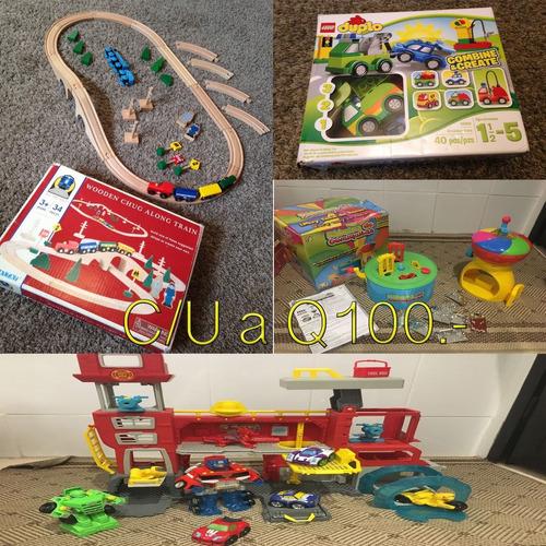hermosos juguetes casi nuevos