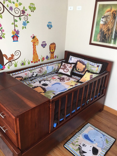 hermosos menajes para cama cuna personalizables. bajo pedido