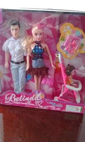 hermosos muñecos para niñas belinda happy family