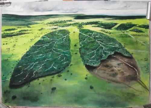hermosos murales artisticos pinturas por encargo medellin,
