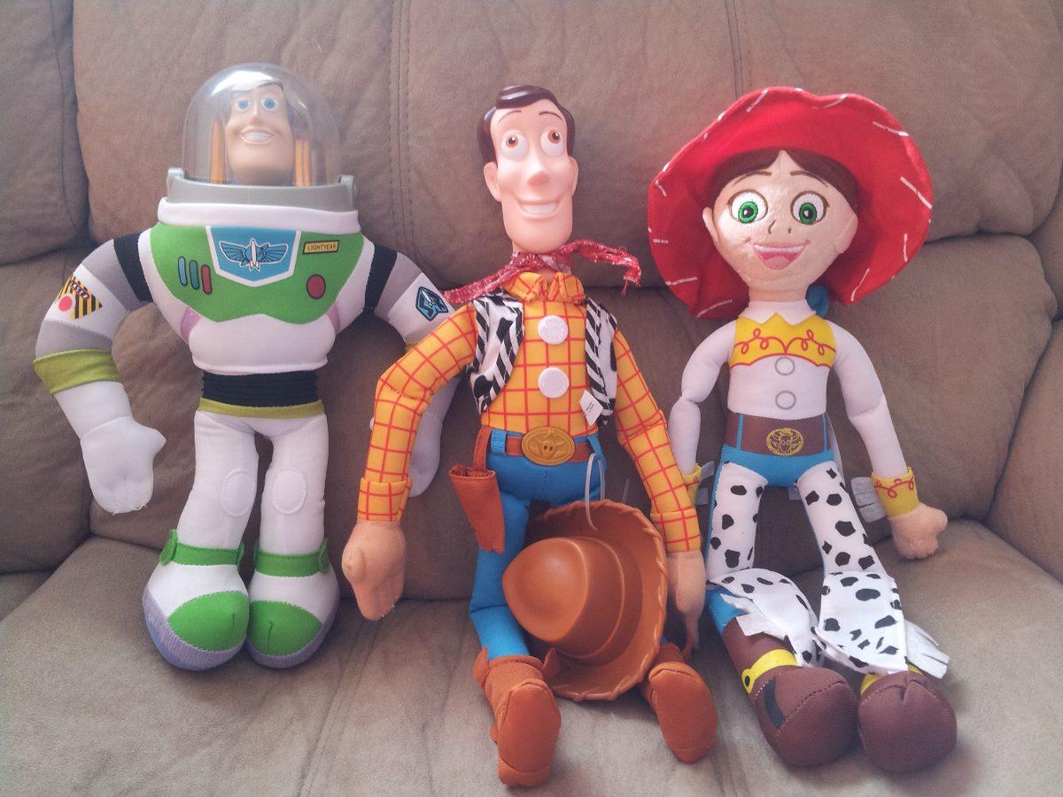 d9c318cc645db Hermosos Peluches Muñecos De Toy Story