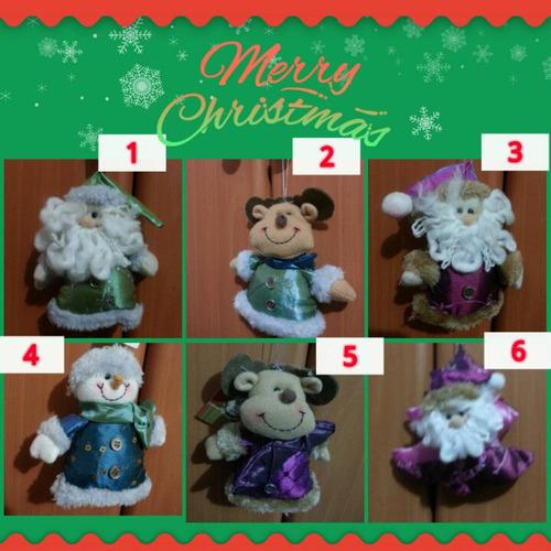 hermosos peluchitos navideños.  importados