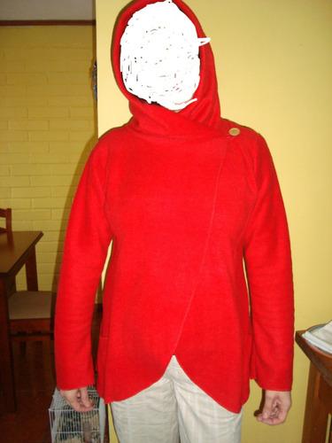hermosos polar con capucha talla m y l a solo $ 5500
