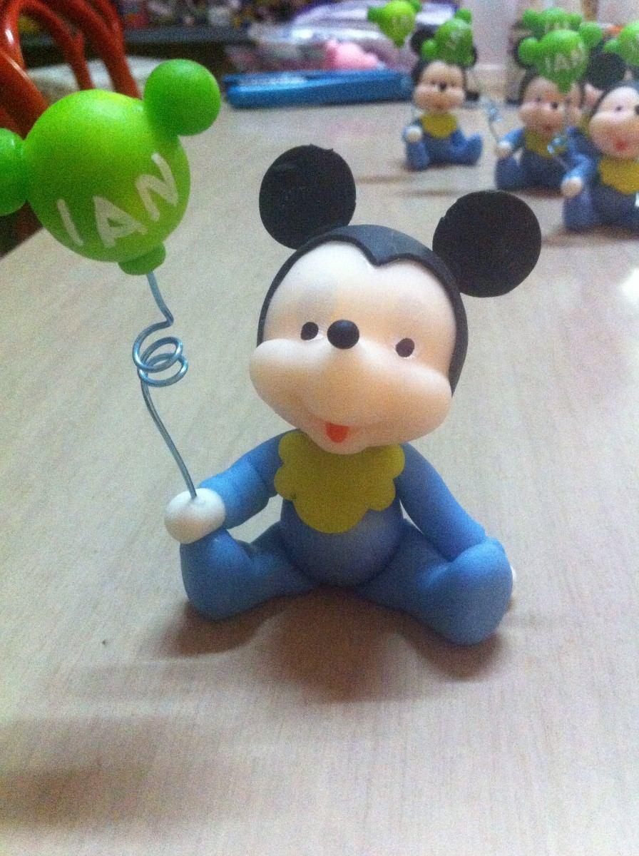 10 Souvenirs De Mickey Mouse En Porcelana Fria - Arte y Artesanías ...