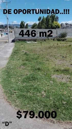 hermosos terrenos  en el valle de los chillos desde 45.000
