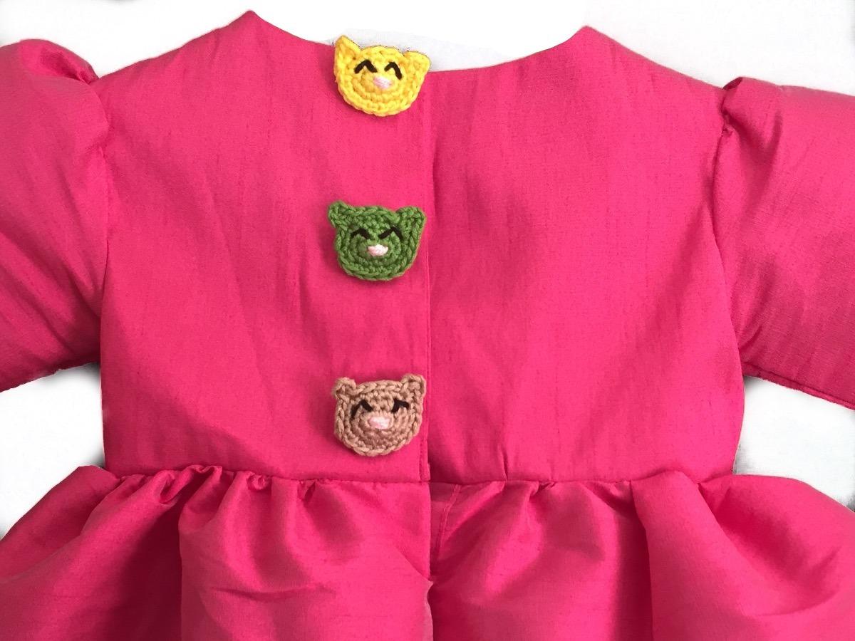 Hermosos Vestidos De Ceremonia Bebé 0 A 4 Años -   450.00 en Mercado ... f976db7965b1