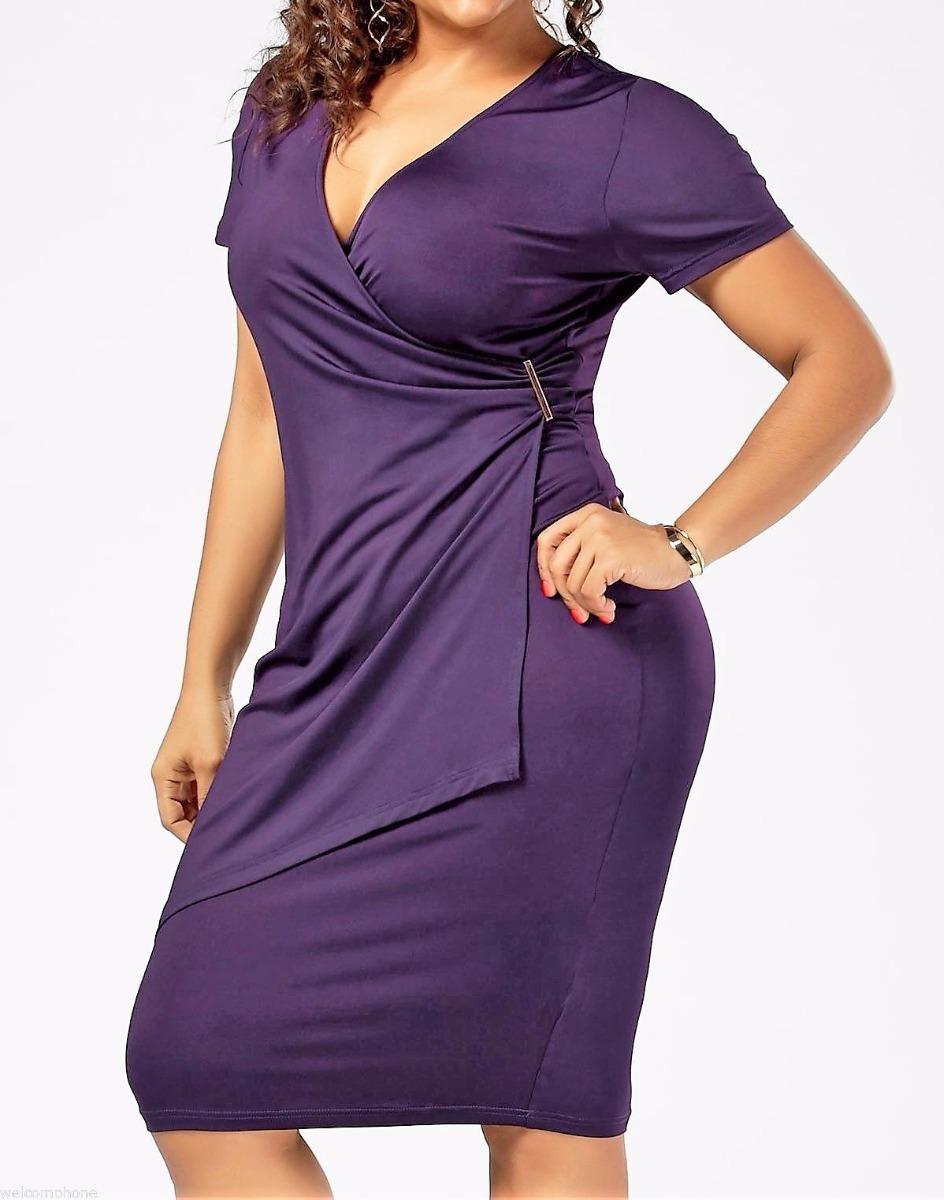 Hermosos Vestidos De Cóctel Tallas Grandes - $ 16.000 en Mercado Libre