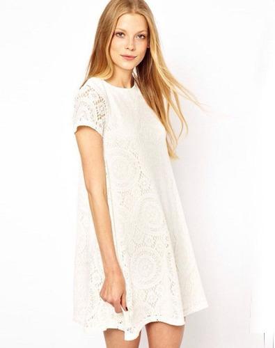 hermosos vestidos importados cortos de encaje.un sueño!!