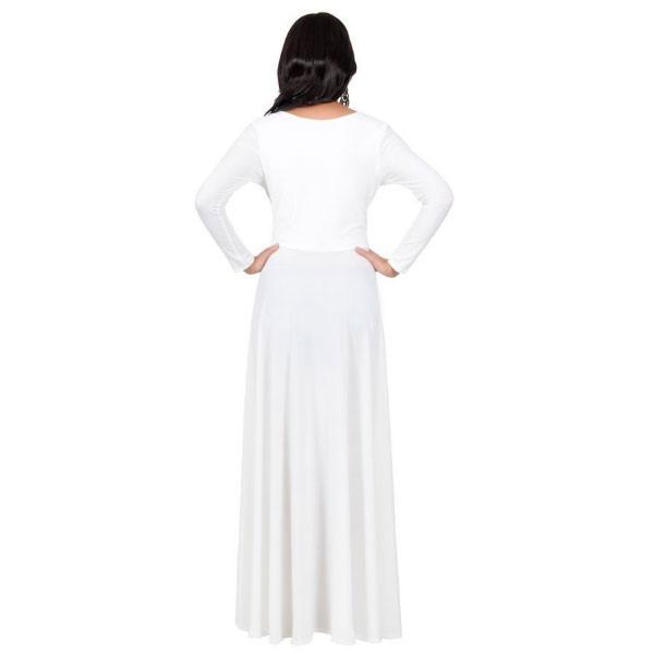 306ef72f53 Hermosos Vestidos Largos Noche Moda Elegante Manga Larga - U S 59.00 ...