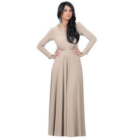 789244fc6 Hermosos Vestidos Largos Moda - Vestidos de Mujer De noche Largo Negro en  Mercado Libre México