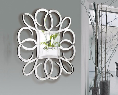hermosos y originales espejos con acero inoxidable
