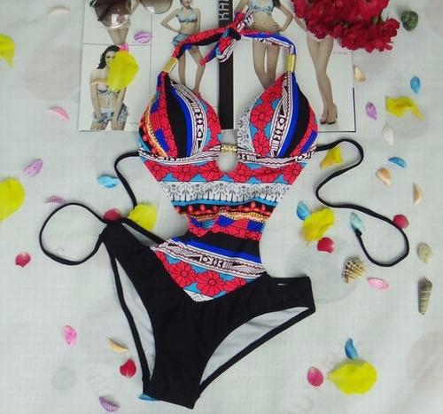 hermosos y sexies trikinis geométricos 2018 2 tonos