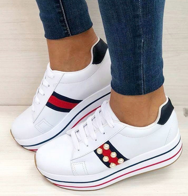 c3af172096ff4 Hermosos Zapato Deportivos Para Dama Directamente De Fabrica ...