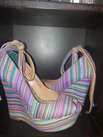 2e8a068033 Hermosas Zapatillas En Tela Tonos Rosas Wedge No Coach