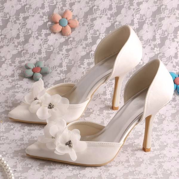 hermosos zapatos de novia td-965 ivory - $ 1,000.00 en mercado libre