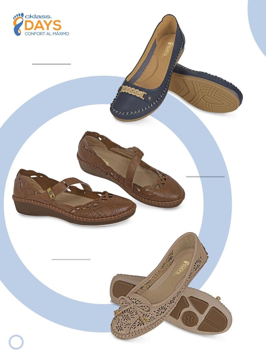 35358503 Hermosos Zapatos De Piso Línea Confort De Moda Cklass - $ 559.00 en ...