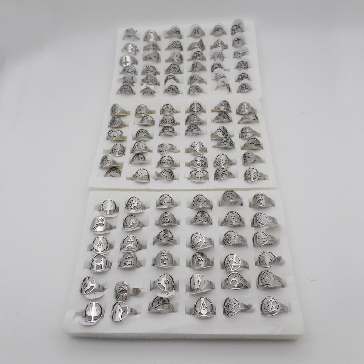 c0115ff538f4 hermosos12 anillos formas caladas acero quirurgico por mayor. Cargando zoom.