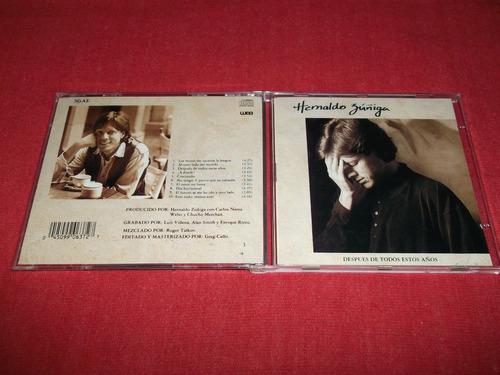 hernaldo zuñiga - despues de todos estos años cd 1992 mdisk