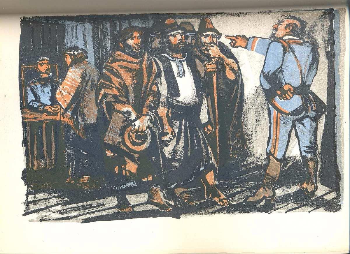 Resultado de imagen para Martín Fierro, litografía de Carlos Alonso